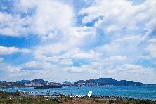 미세먼지 없는 여수의 푸른하늘